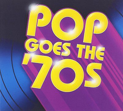 Various Artist - Pop Goes The 70s [CD New] Time Life