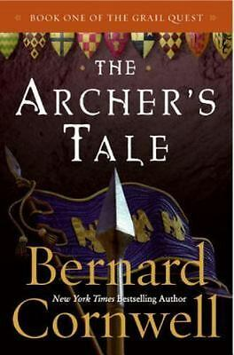 THE ARCHER'S TALE by Bernard Cornwell paperback book FREE SHIPPING grail quest 1