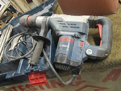 "Bosch 11264EVS 1-5/8"" SDS-max Rotary Hammer  and extras"
