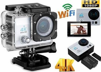 Pro Cam 4K SPORT WIFI ACTION CAMERA ULTRA HD VIDEOCAMERA SUBACQUEA GOPRO 16MP ≋