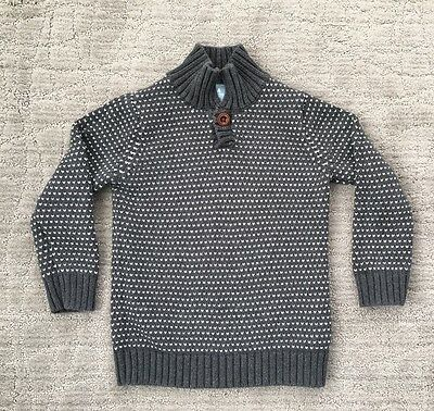 Baby Gap Toddler Boy Sweater size 4T Charcoal Gray
