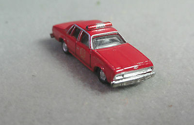 CMW Classic Metal Works N Scale Fire Dept Chief Chevrolet Caprice