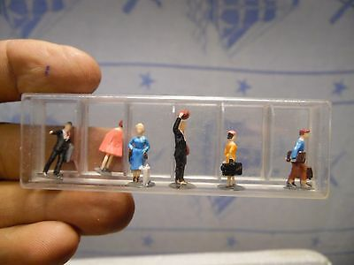"""24 Pc Vintage Collectible Mixed Lot Miniature People Figurine 1""""-1 1/4"""" In Boxes"""