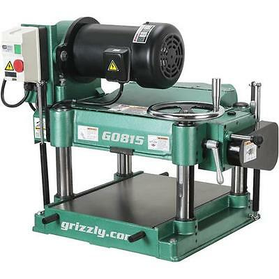 "G0815 Grizzly 15"" Heavy-Duty Planer"