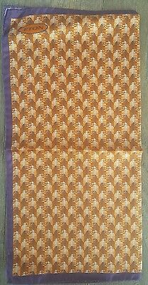 ETON  Pocket Square. Made In Italy, 13 inch $25. 100% silk print