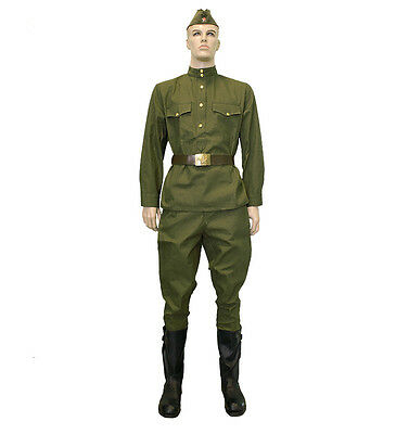 USSR ww2 wwii gimnasterka uniform olive camouflage suit military  ARMY Russian