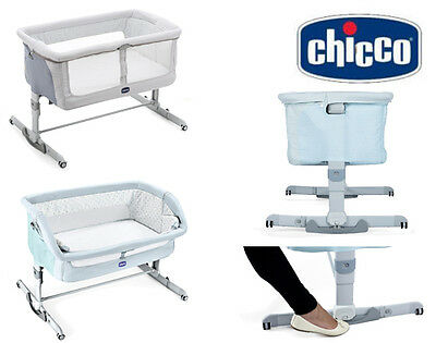 Orginal Chicco Next 2 Me Dream 2017 Swing Function Side Sleeping Crib Baby Crib