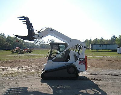 2005 Bobcat T300 Skid Steer Multi Terrain Loader TURBO, HIGH FLOW Kubota Diesel