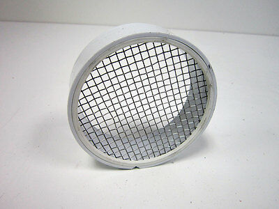 """Raven Tv2422 Pvc Termination Vent With Stainless Steel Screen, 4"""""""