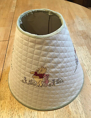 Classic Pooh Quilted Lamp Shade