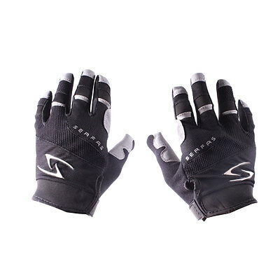Serfas Zen Full-Finger Men's Cycling Gloves XL Black