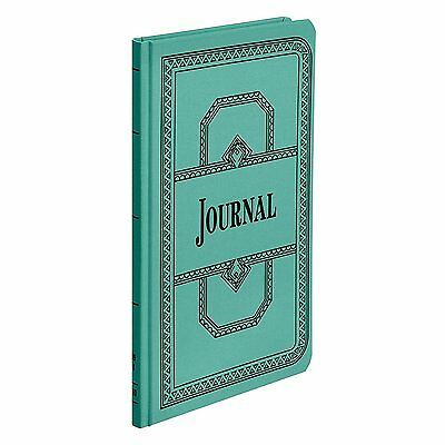 Boorum & Pease 66 Series Account Book, Journal Ruled, Green, 150 Pages, 12-1/8""