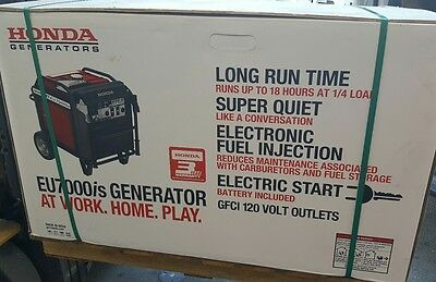 New Honda Portable Generator EU7000ISAT Gasoline free freight shipping