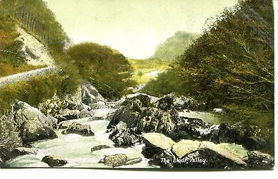 Postcard The Lledr Valley North Wales Vintage 1913