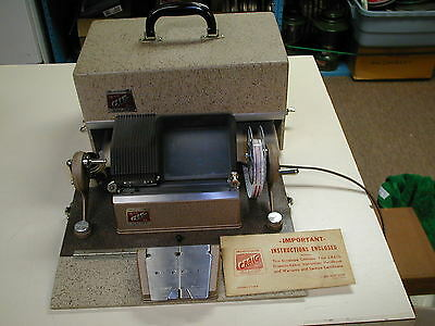 CRAIG  KE-16 Projecto - Editor for 16mm Film by KALART with Case