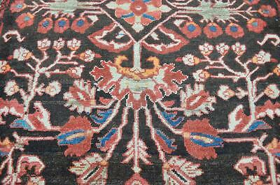 3'7x4'9 1940s Gorgeous Genuine Antique Persian Tribal Hand Knotted Wool Area Rug