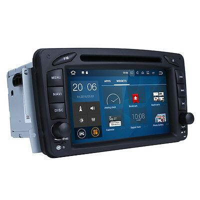 Android 5.1 Radio DVD GPS Navigation For Mercedes Benz W203 C200 C230 G-W463 CLK