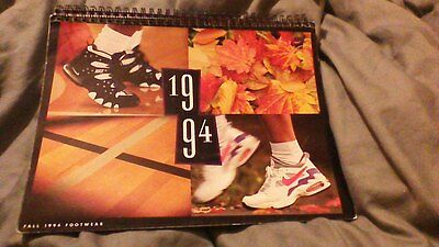 Vintage NIKE FALL 1994 Footwear Dealer Catalog