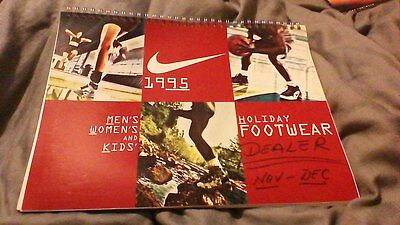 Vintage NIKE 1995 HOLIDAY Footwear Dealer Catalog