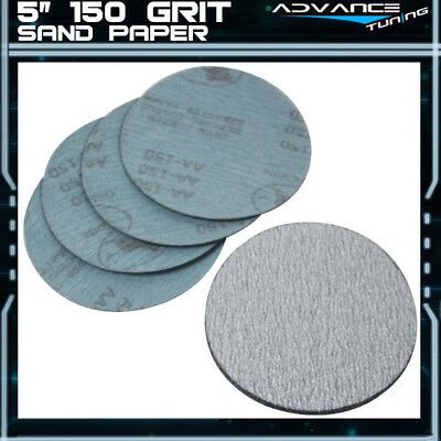 10PC 5Inch 127mm 150 Grit Auto Sanding Disc No Hole Sandpaper Sheets Sand Paper