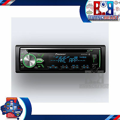 New Pioneer Deh-x4950bt Aux Usb Iphone Android Bluetooth Car Stereo Dehx4950bt