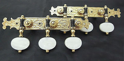 Classical Guitar gold plated tuners, acrylic buttons 200G-P2W