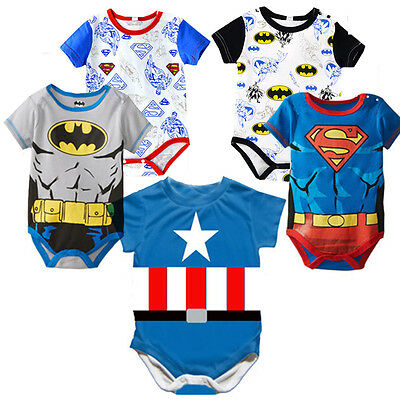 a06dbe239769 MARVEL SUPERHERO BABY Romper Jumpsuit Babygrows One-piece Outfit ...