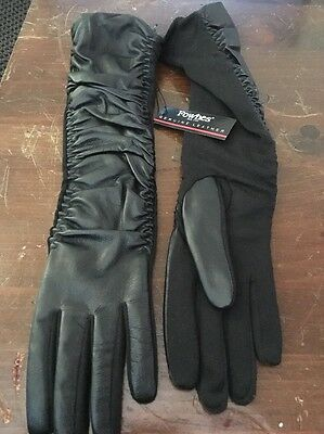 Fownes Women's Genuine Leather WPL 9522 Gloves S/M $128