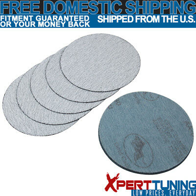 10PC 5Inch 127mm 100 Grit Auto Sanding Disc Bumper Collision Repair Sand Paper
