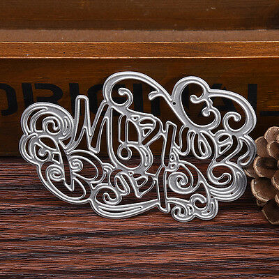 cloud Stencil Cutting Dies DIY scrapbooking Embossing Paper Album Craft 60*90mm