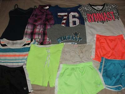 Justice Huge Lot Of Girls Spring Summer Clothing Size 10 Euc