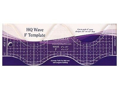 HandiQuilter Wave F Template ruler
