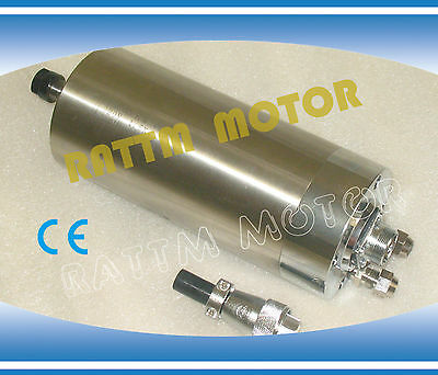 1.5KW Water Cooled Spindle Motor ER11 24000rpm 220V 80mm For CNC Router Machine