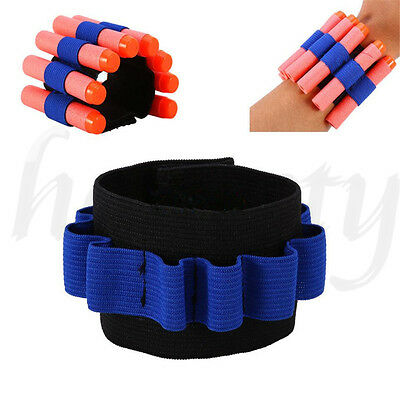 Ammo Bullet Dart Holder Carrier Bandolier Elastic Band for Nerf N-strike CS Fun