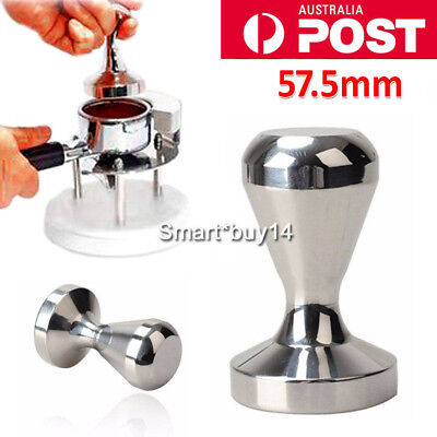 Coffee Tamper 57.5mm 711g Stainless Steel Polished Tampa Tamp Espresso Barista