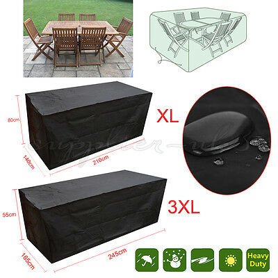 Outdoor Waterproof Patio Furniture Set Cover Covers Table Bench Cube Garden