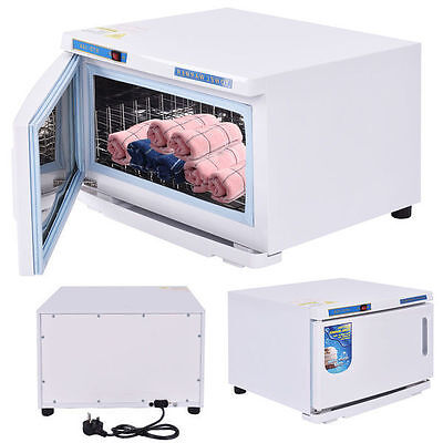 Towel Cabinet Uv Sterilizer Disinfection Beauty Tool Warmer Spa Heater Salon New