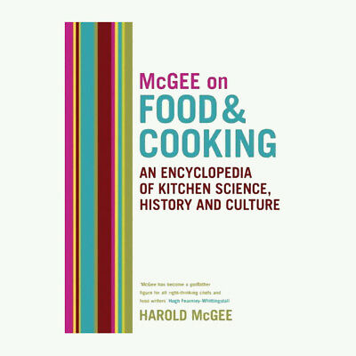 Harold Mcgee McGee on Food and Cooking  New Hardcover 9780340831496