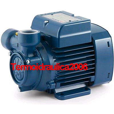 Electric Peripheral Water Pump PQ60 0,5Hp Brass impeller 400V Pedrollo Z3