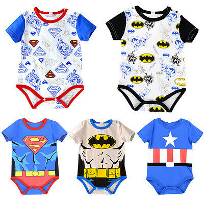 Newborn Baby Clothes Romper Boys Kid Cute Onesie Jumpsuit Bodysuit Outfits Set