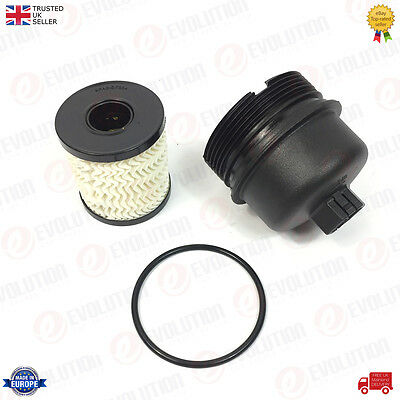 OIL FILTER+HOUSING CAP FITS DUCATO 2.2 JTD, RELAY BOXER 2.2 HDi TRANSIT 2.2 TDCi
