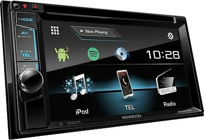 Kenwood DDX4017BT Double Din Car Stereo  iPod iPhone Android Spotify FM USB AUX