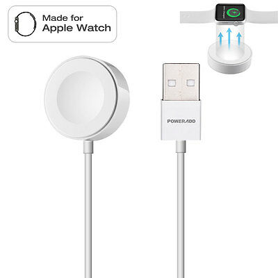 1M Magnetic Charging Cable for iWatch 38mm & 42mm Apple Watch Charger MFI