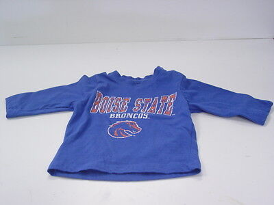 Baby's T-Shirt Infant Size 3 - 6 Months  Boise State Broncos New!