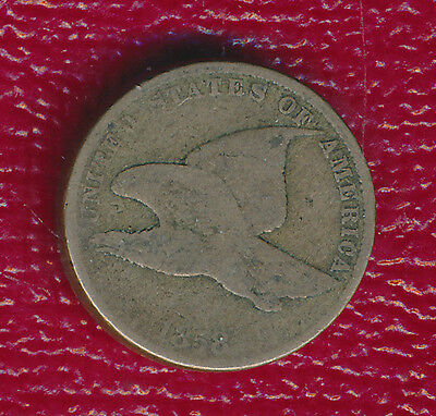 1858 Small Letter 1 Cent Piece ** Nice Circulated Coin ** Free Shipping