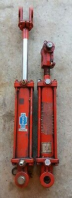 "Cross Double Acting Hydraulic Cylinders 8"" Stroke 2-1/2"" Bore"