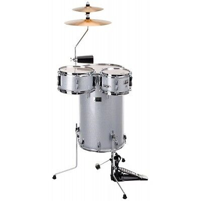 37882 Bateria Set De Percusion Color Plata Xdrum