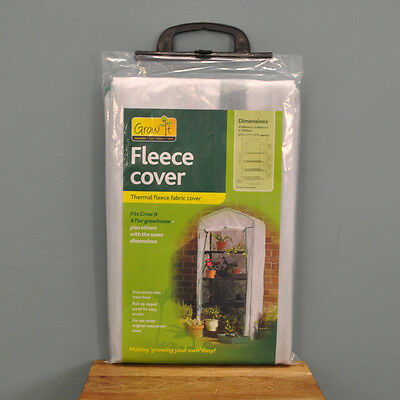 5077f1ebcad 4 TIER MINI Garden Greenhouse Fleece Frost Plant Protection Cover ...