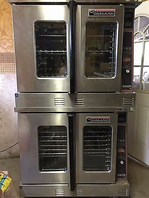 Garland Master 450 Double Stack Electric Convection Ovens