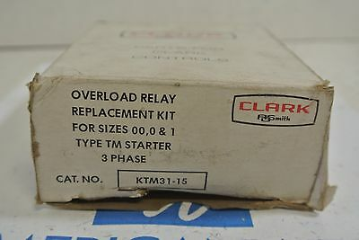 Joslyn Clark KTM31-15 OVERLOAD RELAY REPLACEMENT KIT Size 00-1- NEW IN BOX